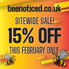 15% Sitewide Discount this February Only!