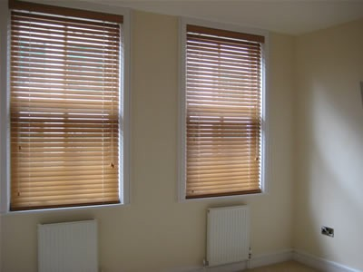 Made to Measure Wooden Venetian Blinds