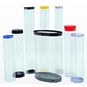 Clear Plastic Tubes and Sleeves