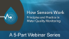 How YSI Sensors Work for in-situ Water Testing