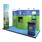 4m x 3m Exhibition Stand Kit