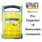 15 Compartment Pro Screws Parts Organiser 66146C