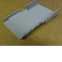 CNC bending sheet metal brackets, angles and sections