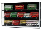 1:76 Model Bus Display Case for 1:76 Scale Model Buses (SWD02-3)