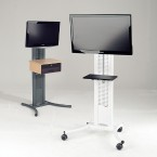 "LCD Wheeled Stand | 50"" Plasma"