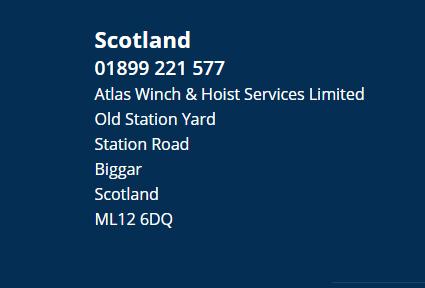 We also have an office in Scotland