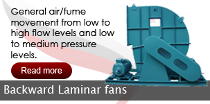 Backward Laminar Fans