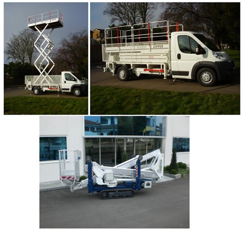 Vehicle Mounted Scissor Lifts