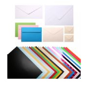 A wide range of paper and card products