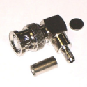 BNC Elbow Crimp Plug