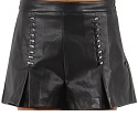 SHORTS / SKIRT LEATHER LOOK FASHION