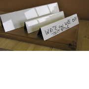 Write on Wipe off Name Plates