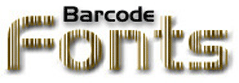 Barcode Fonts