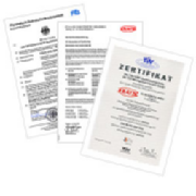 Certificates and Approvals