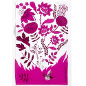 STANDARD COTTON TEA TOWEL SPOT COLOUR ALL OVER PRINT