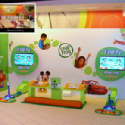 Leapfrog Airport Play Area POP Display