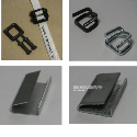 Clips,seals and buckles for plastic straps