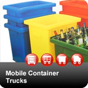 Plastic Mobile Container Trolley