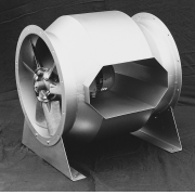 Bifurcated Axial Flow Fans for High Temperature Systems