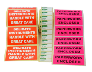 Box and Delivery Labels