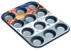 12 Cup Non-Stick Bun Sheet - H8125