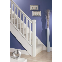 White Primed Stair Parts