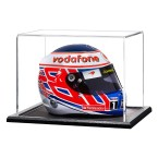 1/2 Scale Crash Helmet Display Case with a Wooden Base (TD021)