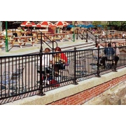 Pedestrian Guardrailing, Crash Barriers and Fencing