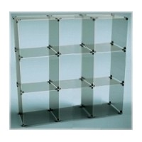 Flat-pack Acrylic & Glass Cube Display Kits