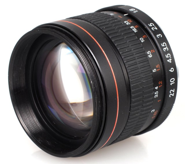 Ephotozine reviews the Kelda 85mm f/1.8 Lens Review