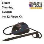 Silverline 265438 1500W Steam Cleaner Cleaning System 12pc Kit