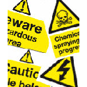 Warning signs and labels