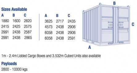 Offshore Containers, Tanks and Baskets