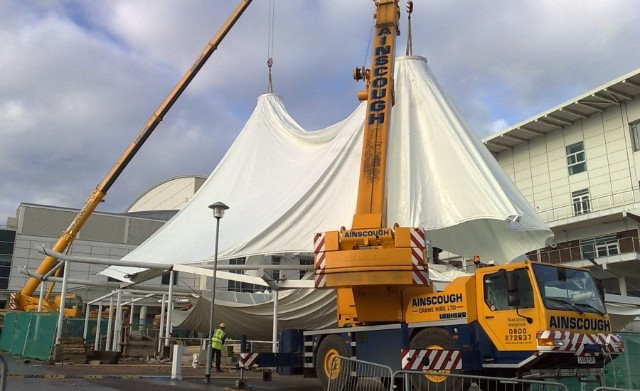 Fabric Structure Installation