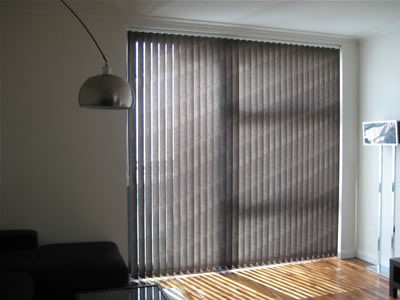Made to Measure Vertical Louvre Blinds