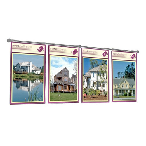 Estate Agent Wall Displays