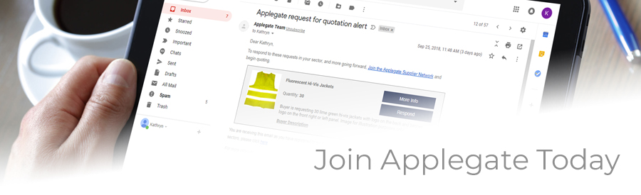 Join Applegate today